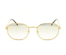VF Detroit Player 18KT Gold (Flash Grail) Front, VF by Vintage Frames, glasses frames, eyeglasses online, eyeglass frames, mens glasses, womens glasses, buy glasses online, designer eyeglasses, vintage sunglasses, retro sunglasses, vintage glasses, sunglass, eyeglass, glasses, lens, vintage frames company, vf