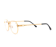 VF Detroit Player 18KT Gold (Clear), VF by Vintage Frames, glasses frames, eyeglasses online, eyeglass frames, mens glasses, womens glasses, buy glasses online, designer eyeglasses, vintage sunglasses, retro sunglasses, vintage glasses, sunglass, eyeglass, glasses, lens, vintage frames company, vf