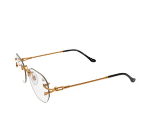 VF V-Decor Drill Mount 24KT Gold (Flash Gold), VF Drill Mount, glasses frames, eyeglasses online, eyeglass frames, mens glasses, womens glasses, buy glasses online, designer eyeglasses, vintage sunglasses, retro sunglasses, vintage glasses, sunglass, eyeglass, glasses, lens, vintage frames company, vf