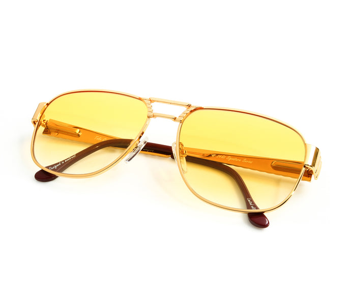 VF Oyster 24KT Gold (Metro Yellow) Thumb, VF Masterpiece, vintage frames, vintage frame, vintage sunglasses, vintage glasses, retro sunglasses, retro glasses, vintage glasses, vintage designer sunglasses, vintage design glasses, eyeglass frames, glasses frames, sunglass frames, sunglass, eyeglass, glasses, lens, jewelry, vintage frames company, vf