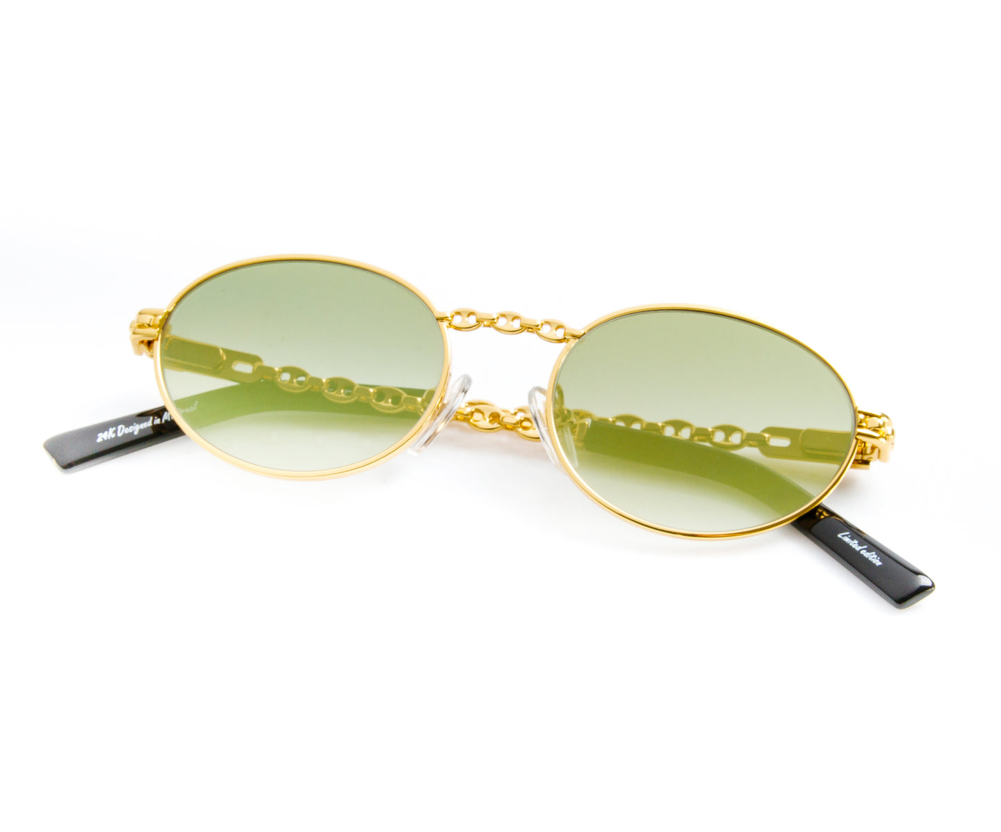 VF Mariner Pac 24KT Gold (Moss Green), VF Masterpiece , glasses frames, eyeglasses online, eyeglass frames, mens glasses, womens glasses, buy glasses online, designer eyeglasses, vintage sunglasses, retro sunglasses, vintage glasses, sunglass, eyeglass, glasses, lens, vintage frames company, vf