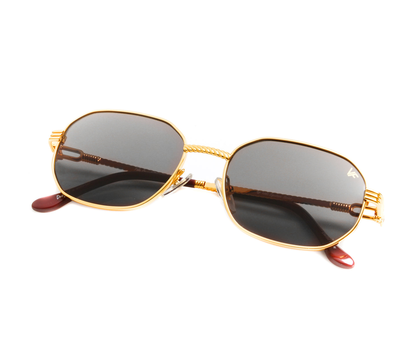 VF Hustler 18KT Gold (Black) Thumbnail, VF by Vintage Frames , glasses frames, eyeglasses online, eyeglass frames, mens glasses, womens glasses, buy glasses online, designer eyeglasses, vintage sunglasses, retro sunglasses, vintage glasses, sunglass, eyeglass, glasses, lens, vintage frames company, vf