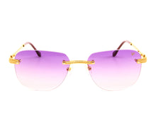 VF Hustler Drill Mount 24KT Gold (Purple),VF Drill Mount , glasses frames, eyeglasses online, eyeglass frames, mens glasses, womens glasses, buy glasses online, designer eyeglasses, vintage sunglasses, retro sunglasses, vintage glasses, sunglass, eyeglass, glasses, lens, vintage frames company, vf