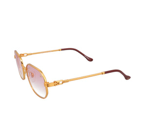 VF Hustler 18KT Gold (Baby Pink), VF by Vintage Frames, glasses frames, eyeglasses online, eyeglass frames, mens glasses, womens glasses, buy glasses online, designer eyeglasses, vintage sunglasses, retro sunglasses, vintage glasses, sunglass, eyeglass, glasses, lens, vintage frames company, vf