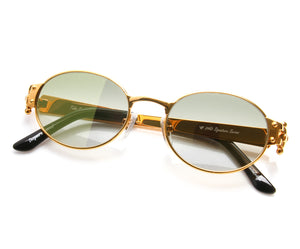 , VF 2000 24KT Gold Masterpiece (Moss Green), VF Masterpiece, glasses frames, eyeglasses online, eyeglass frames, mens glasses, womens glasses, buy glasses online, designer eyeglasses, vintage sunglasses, retro sunglasses, vintage glasses, sunglass, eyeglass, glasses, lens, vintage frames company, vf