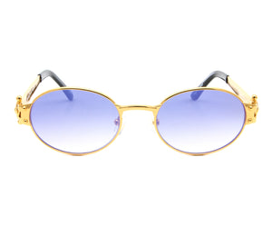 VF 2000 24KT Gold Masterpiece (Midnight Blue), VF Masterpiece, glasses frames, eyeglasses online, eyeglass frames, mens glasses, womens glasses, buy glasses online, designer eyeglasses, vintage sunglasses, retro sunglasses, vintage glasses, sunglass, eyeglass, glasses, lens, vintage frames company, vf