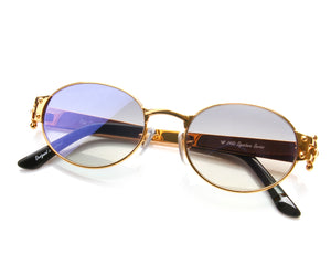 VF 2000 24KT Gold Masterpiece (Midnight Blue), VF Masterpiece, vintage frames, vintage frame, vintage sunglasses, vintage glasses, retro sunglasses, retro glasses, vintage glasses, vintage designer sunglasses, vintage design glasses, eyeglass frames, glasses frames, sunglass frames, sunglass, eyeglass, glasses, lens, jewelry, vintage frames company, vf