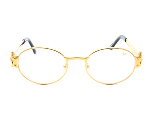 VF 2000 24KT Gold Masterpiece (Clear), VF Masterpiece, glasses frames, eyeglasses online, eyeglass frames, mens glasses, womens glasses, buy glasses online, designer eyeglasses, vintage sunglasses, retro sunglasses, vintage glasses, sunglass, eyeglass, glasses, lens, vintage frames company, vf