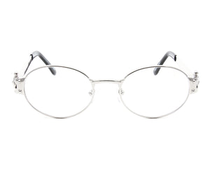VF 2000 24KT White Gold Masterpiece (Clear), VF Masterpiece, glasses frames, eyeglasses online, eyeglass frames, mens glasses, womens glasses, buy glasses online, designer eyeglasses, vintage sunglasses, retro sunglasses, vintage glasses, sunglass, eyeglass, glasses, lens, vintage frames company, vf