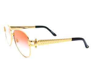 VF 2001 24KT Gold Masterpiece (Red Gradient), VF Masterpiece, glasses frames, eyeglasses online, eyeglass frames, mens glasses, womens glasses, buy glasses online, designer eyeglasses, vintage sunglasses, retro sunglasses, vintage glasses, sunglass, eyeglass, glasses, lens, vintage frames company, vf