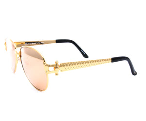 VF 2001 24KT Gold Masterpiece (24KT Gold Lens), VF Masterpiece, glasses frames, eyeglasses online, eyeglass frames, mens glasses, womens glasses, buy glasses online, designer eyeglasses, vintage sunglasses, retro sunglasses, vintage glasses, sunglass, eyeglass, glasses, lens, vintage frames company, vf