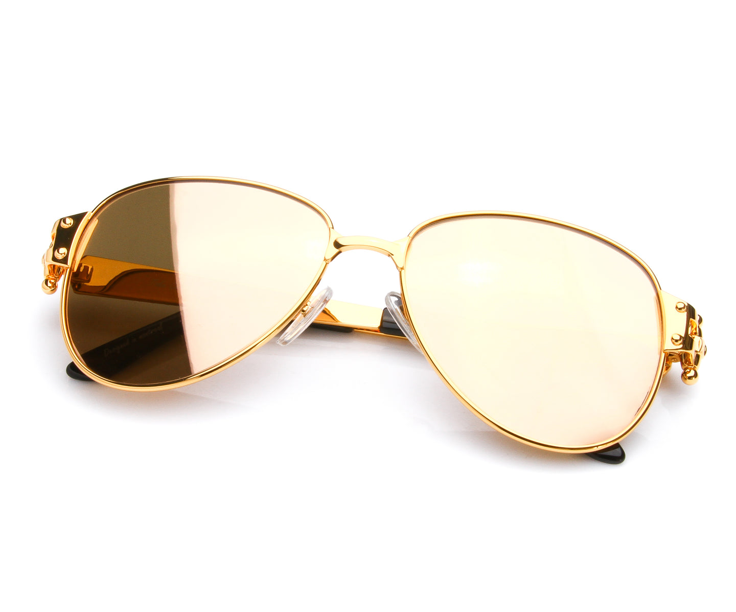 VF 2001 24KT Gold Masterpiece (24KT Gold Lens), VF Masterpiece , glasses frames, eyeglasses online, eyeglass frames, mens glasses, womens glasses, buy glasses online, designer eyeglasses, vintage sunglasses, retro sunglasses, vintage glasses, sunglass, eyeglass, glasses, lens, vintage frames company, vf