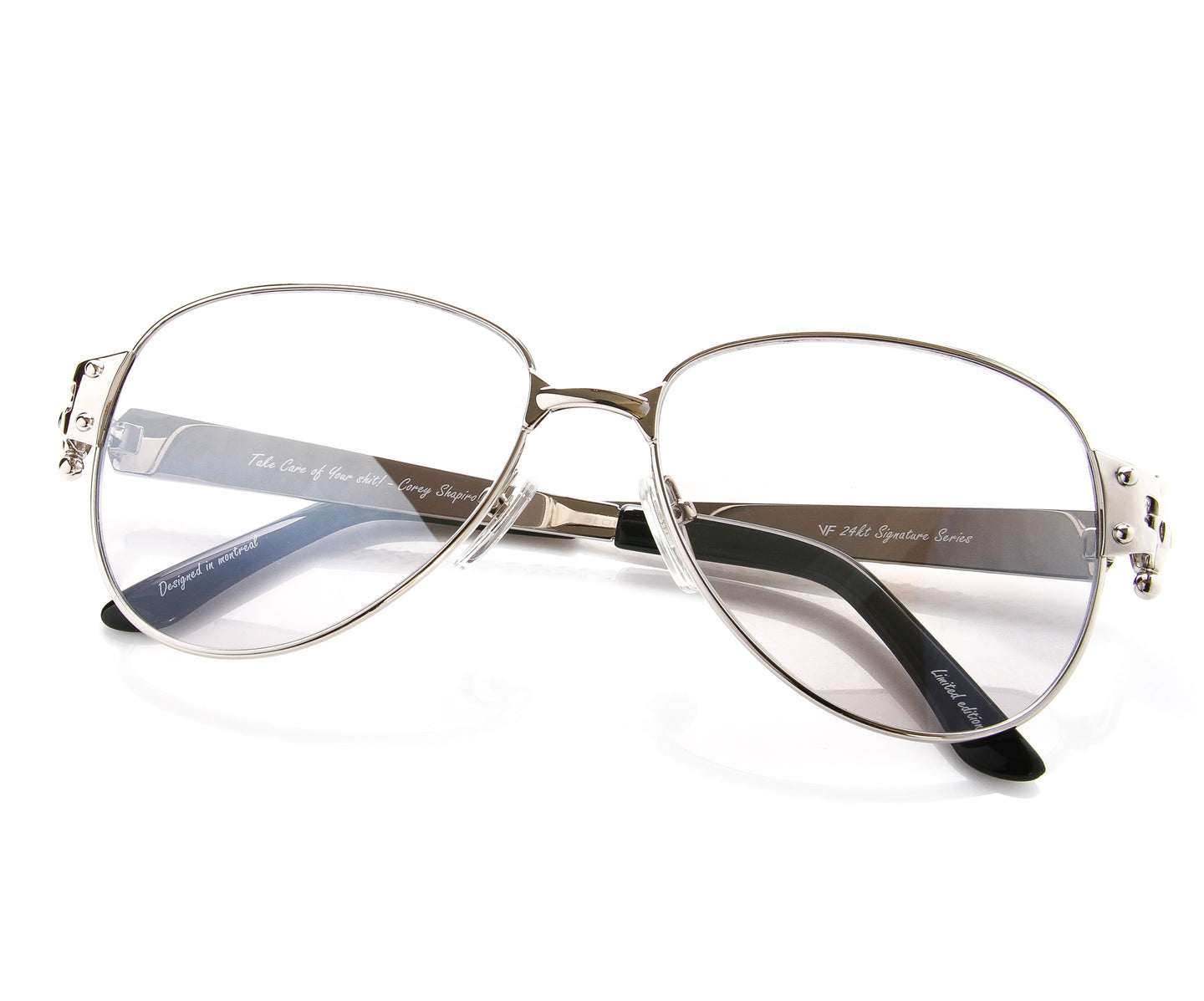 VF 2001 24KT White Gold Masterpiece (Storm Gray), VF Masterpiece , glasses frames, eyeglasses online, eyeglass frames, mens glasses, womens glasses, buy glasses online, designer eyeglasses, vintage sunglasses, retro sunglasses, vintage glasses, sunglass, eyeglass, glasses, lens, vintage frames company, vf