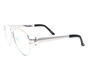 VF 2001 24KT White Gold Masterpiece (Black / Pink), VF Masterpiece, glasses frames, eyeglasses online, eyeglass frames, mens glasses, womens glasses, buy glasses online, designer eyeglasses, vintage sunglasses, retro sunglasses, vintage glasses, sunglass, eyeglass, glasses, lens, vintage frames company, vf