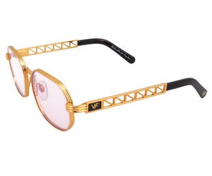 VF Jacques Cartier Hustler 24KT Gold (Gumdrop), VF Masterpiece, glasses frames, eyeglasses online, eyeglass frames, mens glasses, womens glasses, buy glasses online, designer eyeglasses, vintage sunglasses, retro sunglasses, vintage glasses, sunglass, eyeglass, glasses, lens, vintage frames company, vf