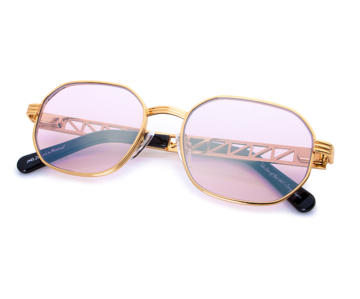 VF Jacques Cartier Hustler 24KT Gold (Gumdrop), VF Masterpiece , glasses frames, eyeglasses online, eyeglass frames, mens glasses, womens glasses, buy glasses online, designer eyeglasses, vintage sunglasses, retro sunglasses, vintage glasses, sunglass, eyeglass, glasses, lens, vintage frames company, vf