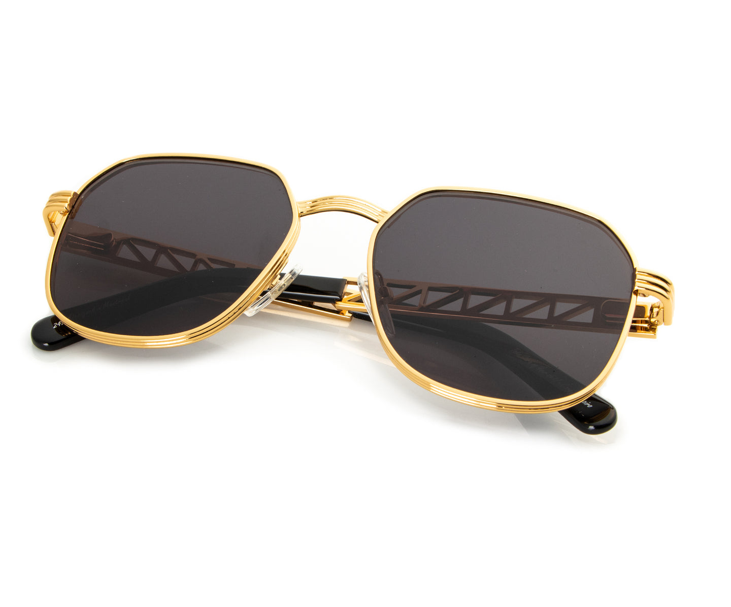 VF Jacques Cartier CEO 24KT Gold (Black), VF Masterpiece , glasses frames, eyeglasses online, eyeglass frames, mens glasses, womens glasses, buy glasses online, designer eyeglasses, vintage sunglasses, retro sunglasses, vintage glasses, sunglass, eyeglass, glasses, lens, vintage frames company, vf
