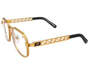 VF Jacques Cartier CEO 24KT Gold (Clear), VF Masterpiece, glasses frames, eyeglasses online, eyeglass frames, mens glasses, womens glasses, buy glasses online, designer eyeglasses, vintage sunglasses, retro sunglasses, vintage glasses, sunglass, eyeglass, glasses, lens, vintage frames company, vf