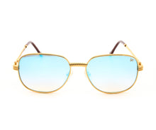 VF Mayor 18KT Gold (Blue Peach), VF by Vintage Frames, glasses frames, eyeglasses online, eyeglass frames, mens glasses, womens glasses, buy glasses online, designer eyeglasses, vintage sunglasses, retro sunglasses, vintage glasses, sunglass, eyeglass, glasses, lens, vintage frames company, vf