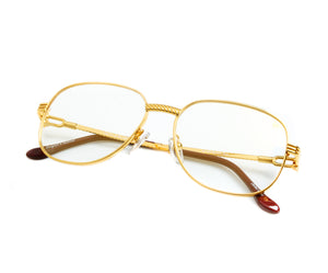 VF Mayor 18KT Gold (Flash Gold), VF by Vintage Frames, glasses frames, eyeglasses online, eyeglass frames, mens glasses, womens glasses, buy glasses online, designer eyeglasses, vintage sunglasses, retro sunglasses, vintage glasses, sunglass, eyeglass, glasses, lens, vintage frames company, vf