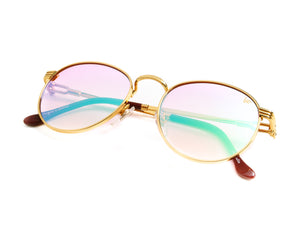 VF Miami Vice 18KT Gold (Candy Pink), VF by Vintage Frames, vintage frames, vintage frame, vintage sunglasses, vintage glasses, retro sunglasses, retro glasses, vintage glasses, vintage designer sunglasses, vintage design glasses, eyeglass frames, glasses frames, sunglass frames, sunglass, eyeglass, glasses, lens, jewelry, vintage frames company, vf