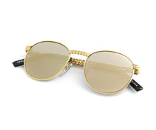 VF Cuban Link Miami Vice 24KT (Revo Brown) Thumb, VF Masterpiece, glasses frames, eyeglasses online, eyeglass frames, mens glasses, womens glasses, buy glasses online, designer eyeglasses, vintage sunglasses, retro sunglasses, vintage glasses, sunglass, eyeglass, glasses, lens, vintage frames company, vf