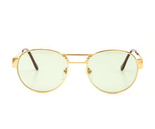 VF Jubilee 24KT Gold (Money Green) Front,VF Masterpiece , glasses frames, eyeglasses online, eyeglass frames, mens glasses, womens glasses, buy glasses online, designer eyeglasses, vintage sunglasses, retro sunglasses, vintage glasses, sunglass, eyeglass, glasses, lens, vintage frames company, vf