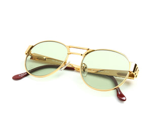 VF Jubilee 24KT Gold (Money Green) Thumb, VF Masterpiece, glasses frames, eyeglasses online, eyeglass frames, mens glasses, womens glasses, buy glasses online, designer eyeglasses, vintage sunglasses, retro sunglasses, vintage glasses, sunglass, eyeglass, glasses, lens, vintage frames company, vf