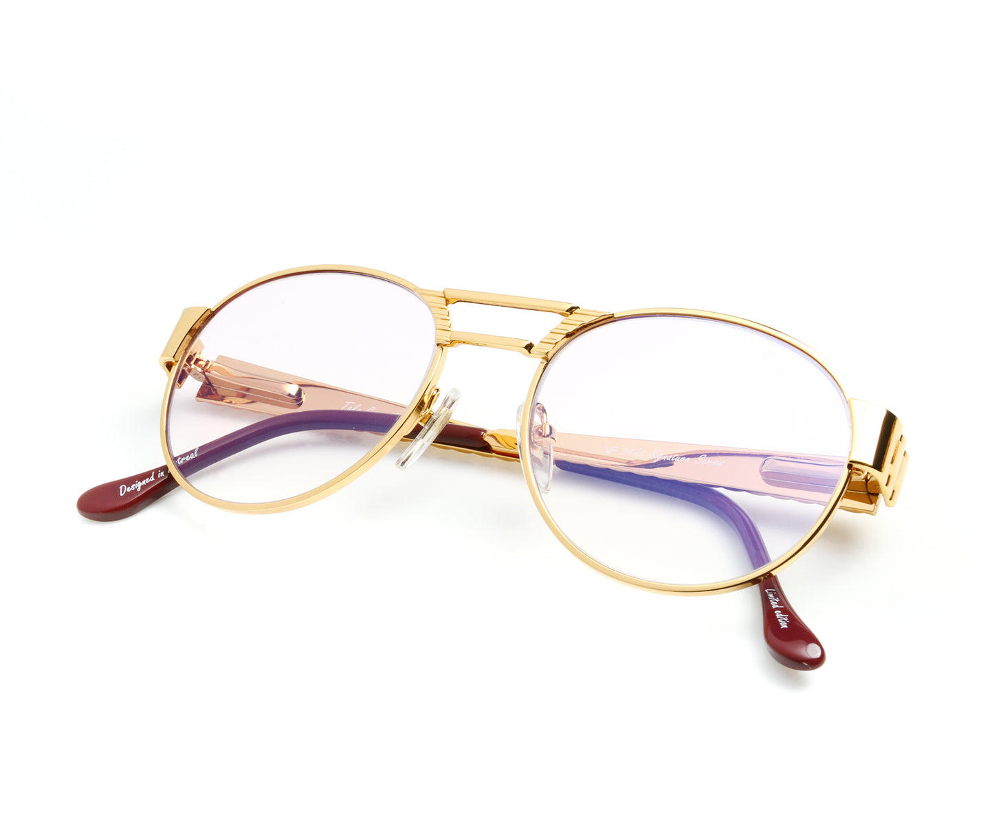 VF Jubilee 24KT Gold (Powder Lilac) Thumb, VF Masterpiece , glasses frames, eyeglasses online, eyeglass frames, mens glasses, womens glasses, buy glasses online, designer eyeglasses, vintage sunglasses, retro sunglasses, vintage glasses, sunglass, eyeglass, glasses, lens, vintage frames company, vf
