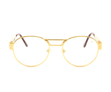 VF Jubilee 24KT Gold (Clear) Front, VF Masterpiece, glasses frames, eyeglasses online, eyeglass frames, mens glasses, womens glasses, buy glasses online, designer eyeglasses, vintage sunglasses, retro sunglasses, vintage glasses, sunglass, eyeglass, glasses, lens, vintage frames company, vf