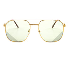 Narcos Masterpiece 18KT Gold Signature Edition (Picasso Green) Front,VF Masterpiece , glasses frames, eyeglasses online, eyeglass frames, mens glasses, womens glasses, buy glasses online, designer eyeglasses, vintage sunglasses, retro sunglasses, vintage glasses, sunglass, eyeglass, glasses, lens, vintage frames company, vf