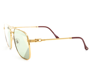 Narcos Masterpiece 18KT Gold Signature Edition (Picasso Green) Side, VF Masterpiece, glasses frames, eyeglasses online, eyeglass frames, mens glasses, womens glasses, buy glasses online, designer eyeglasses, vintage sunglasses, retro sunglasses, vintage glasses, sunglass, eyeglass, glasses, lens, vintage frames company, vf