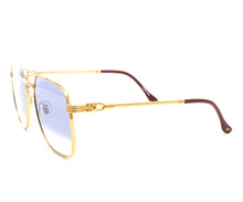 Narcos Masterpiece 18KT Gold Signature Edition (Royal Blue Strip) Side, VF Masterpiece, glasses frames, eyeglasses online, eyeglass frames, mens glasses, womens glasses, buy glasses online, designer eyeglasses, vintage sunglasses, retro sunglasses, vintage glasses, sunglass, eyeglass, glasses, lens, vintage frames company, vf