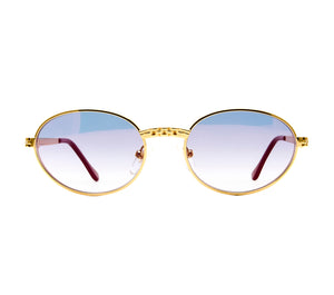 VF Pac Masterpiece 24KT Gold (Royal Blue) Front, VF Masterpiece, glasses frames, eyeglasses online, eyeglass frames, mens glasses, womens glasses, buy glasses online, designer eyeglasses, vintage sunglasses, retro sunglasses, vintage glasses, sunglass, eyeglass, glasses, lens, vintage frames company, vf