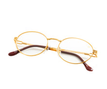 VF Pac 18KT Gold (Clear), VF by Vintage Frames, glasses frames, eyeglasses online, eyeglass frames, mens glasses, womens glasses, buy glasses online, designer eyeglasses, vintage sunglasses, retro sunglasses, vintage glasses, sunglass, eyeglass, glasses, lens, vintage frames company, vf