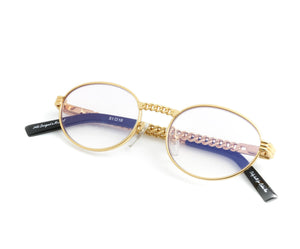, VF Cuban Link Pac 24KT Gold (Lilac Flash Purple), VF Masterpiece, glasses frames, eyeglasses online, eyeglass frames, mens glasses, womens glasses, buy glasses online, designer eyeglasses, vintage sunglasses, retro sunglasses, vintage glasses, sunglass, eyeglass, glasses, lens, vintage frames company, vf