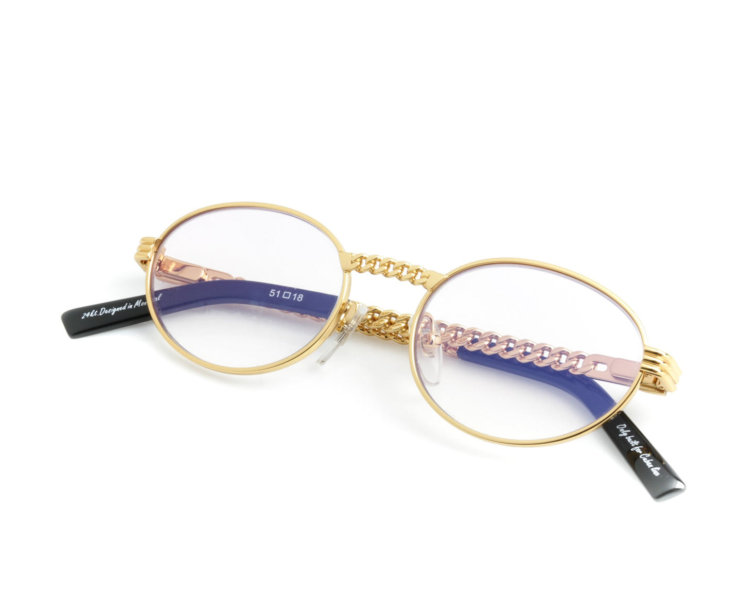 VF Cuban Link Pac 24KT Gold (Lilac Flash Purple) Thumb, VF Masterpiece , glasses frames, eyeglasses online, eyeglass frames, mens glasses, womens glasses, buy glasses online, designer eyeglasses, vintage sunglasses, retro sunglasses, vintage glasses, sunglass, eyeglass, glasses, lens, vintage frames company, vf
