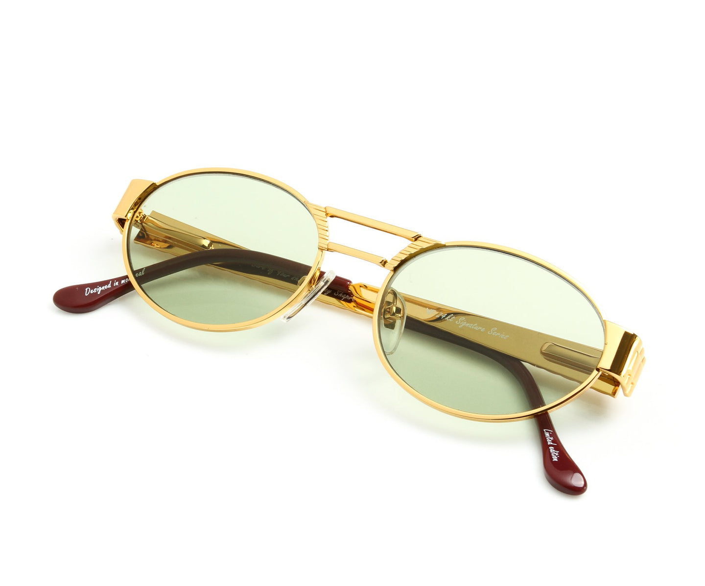 VF Pearlmaster 24KT Gold (Money Green) Thumb, VF Masterpiece , glasses frames, eyeglasses online, eyeglass frames, mens glasses, womens glasses, buy glasses online, designer eyeglasses, vintage sunglasses, retro sunglasses, vintage glasses, sunglass, eyeglass, glasses, lens, vintage frames company, vf