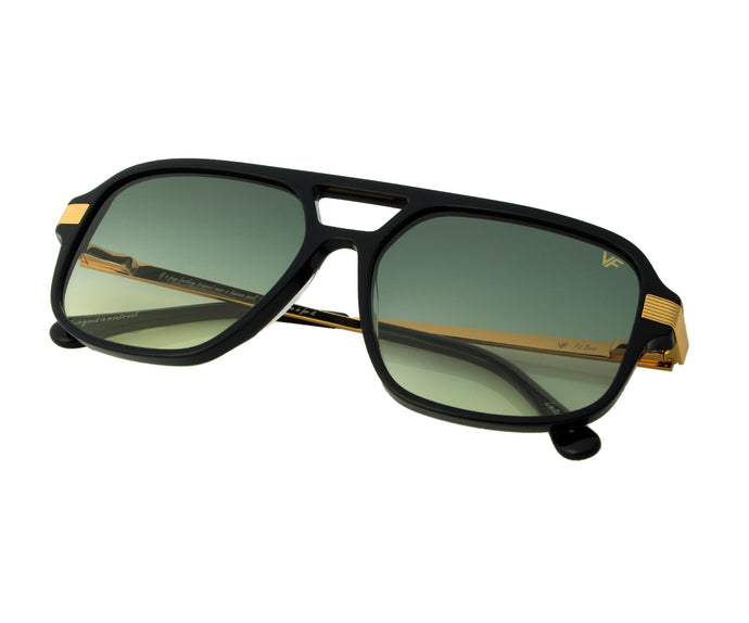 VF Pit Boss Black (Green / Yellow), VF Masterpiece, vintage frames, vintage frame, vintage sunglasses, vintage glasses, retro sunglasses, retro glasses, vintage glasses, vintage designer sunglasses, vintage design glasses, eyeglass frames, glasses frames, sunglass frames, sunglass, eyeglass, glasses, lens, jewelry, vintage frames company, vf