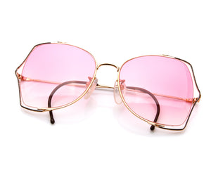 VF Scarlett (Bright Pink Gradient), VF by Vintage Frames, glasses frames, eyeglasses online, eyeglass frames, mens glasses, womens glasses, buy glasses online, designer eyeglasses, vintage sunglasses, retro sunglasses, vintage glasses, sunglass, eyeglass, glasses, lens, vintage frames company, vf