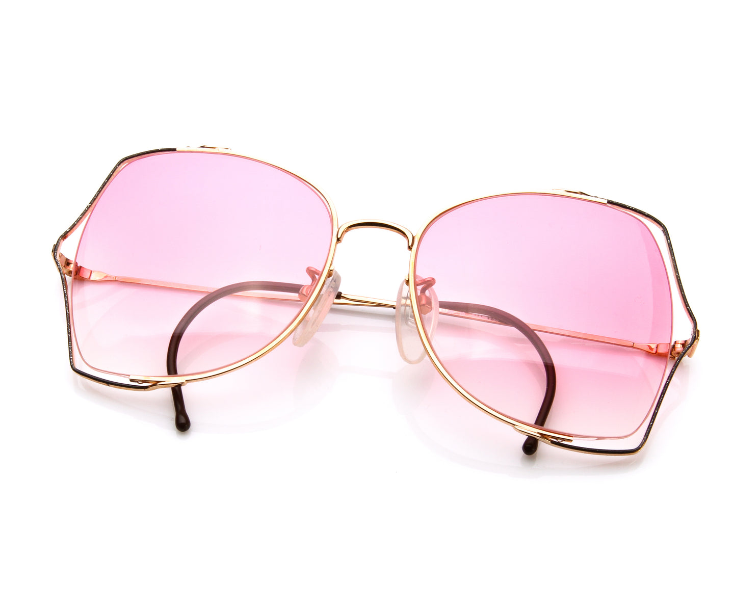 VF Scarlett (Bright Pink Gradient), VF by Vintage Frames , glasses frames, eyeglasses online, eyeglass frames, mens glasses, womens glasses, buy glasses online, designer eyeglasses, vintage sunglasses, retro sunglasses, vintage glasses, sunglass, eyeglass, glasses, lens, vintage frames company, vf
