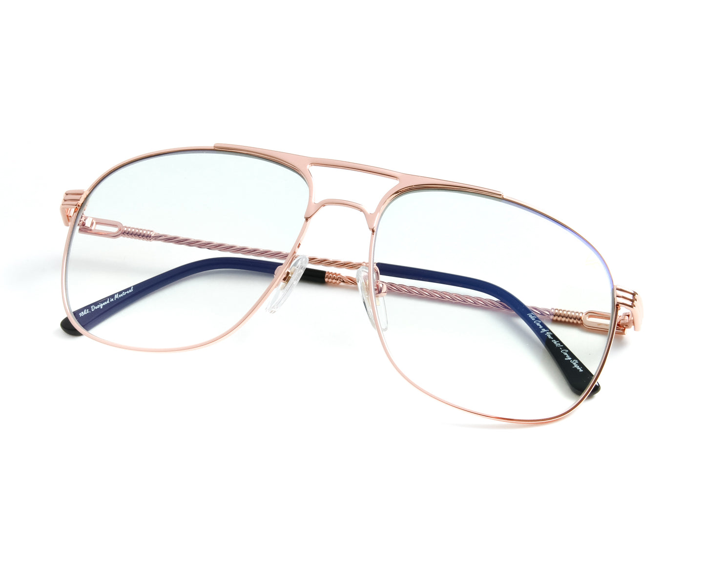 VF Snatch 18KT Rose Gold (Powder Green), VF by Vintage Frames , glasses frames, eyeglasses online, eyeglass frames, mens glasses, womens glasses, buy glasses online, designer eyeglasses, vintage sunglasses, retro sunglasses, vintage glasses, sunglass, eyeglass, glasses, lens, vintage frames company, vf