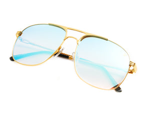 VF Snatch 18KT Gold (Blue Peach), VF by Vintage Frames, vintage frames, vintage frame, vintage sunglasses, vintage glasses, retro sunglasses, retro glasses, vintage glasses, vintage designer sunglasses, vintage design glasses, eyeglass frames, glasses frames, sunglass frames, sunglass, eyeglass, glasses, lens, jewelry, vintage frames company, vf
