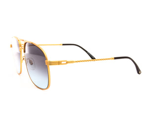 VF Snatch 18KT Satin Gold (Black / Blue), VF by Vintage Frames, glasses frames, eyeglasses online, eyeglass frames, mens glasses, womens glasses, buy glasses online, designer eyeglasses, vintage sunglasses, retro sunglasses, vintage glasses, sunglass, eyeglass, glasses, lens, vintage frames company, vf