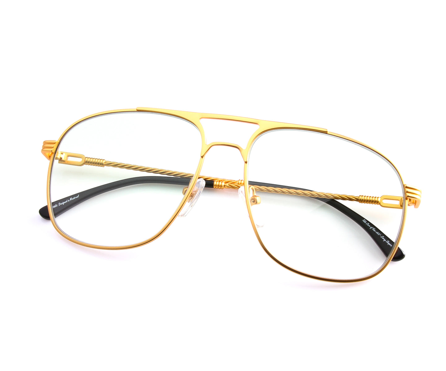 VF Snatch 18KT Satin Gold (Powder Green), VF by Vintage Frames , glasses frames, eyeglasses online, eyeglass frames, mens glasses, womens glasses, buy glasses online, designer eyeglasses, vintage sunglasses, retro sunglasses, vintage glasses, sunglass, eyeglass, glasses, lens, vintage frames company, vf