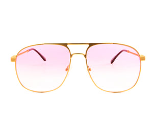 VF Snatch 18KT Satin Gold (Baby Pink), VF by Vintage Frames, glasses frames, eyeglasses online, eyeglass frames, mens glasses, womens glasses, buy glasses online, designer eyeglasses, vintage sunglasses, retro sunglasses, vintage glasses, sunglass, eyeglass, glasses, lens, vintage frames company, vf