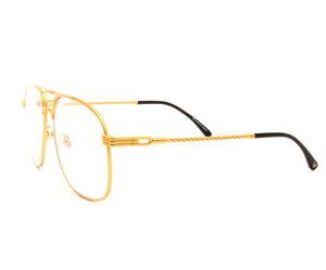VF Snatch 18KT Satin Gold (Clear), VF by Vintage Frames, glasses frames, eyeglasses online, eyeglass frames, mens glasses, womens glasses, buy glasses online, designer eyeglasses, vintage sunglasses, retro sunglasses, vintage glasses, sunglass, eyeglass, glasses, lens, vintage frames company, vf