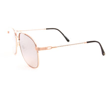 VF Snatch 18KT Rose Gold Two-Tone Signature Edition (Light Smoke) Side, VF by Vintage Frames, glasses frames, eyeglasses online, eyeglass frames, mens glasses, womens glasses, buy glasses online, designer eyeglasses, vintage sunglasses, retro sunglasses, vintage glasses, sunglass, eyeglass, glasses, lens, vintage frames company, vf