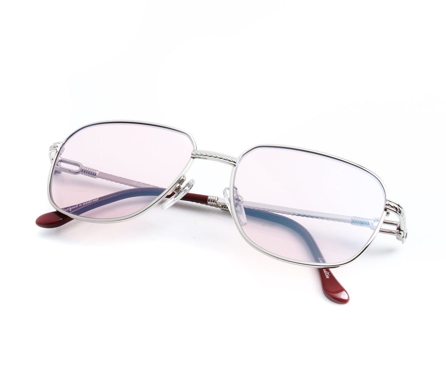 VF South-West 18KT White Gold (Rose Solid) Thumb, VF by Vintage Frames , glasses frames, eyeglasses online, eyeglass frames, mens glasses, womens glasses, buy glasses online, designer eyeglasses, vintage sunglasses, retro sunglasses, vintage glasses, sunglass, eyeglass, glasses, lens, vintage frames company, vf