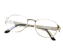 VF 1999 24KT White Gold Masterpiece (Flash Silver), VF Masterpiece, glasses frames, eyeglasses online, eyeglass frames, mens glasses, womens glasses, buy glasses online, designer eyeglasses, vintage sunglasses, retro sunglasses, vintage glasses, sunglass, eyeglass, glasses, lens, vintage frames company, vf